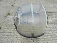 Name: index.jpg Views: 20 Size: 6.8 KB Description: This full size cupola was for sale on EBay some time ago, asking price £850.  The rear (facing forward) could be discarded to allow the gunner to get out if the plane was about to crash. Not a scale feature I wish to duplicate!