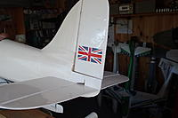 Name: DSC04740.JPG Views: 9 Size: 1.15 MB Description: One of the few markings on the full-size, a Union Jack. This was before the RAF took on the Schneider commitment with the High Speed Flight. Thanks to Tim Calvert for the 'Jacks