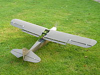 Name: 27.jpg Views: 72 Size: 180.7 KB Description: The flaps add a lot of character to the model. Nearly all the wing is original, as is the tail group, but the fuz is 75% new.