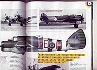 Name: beau 1.jpg Views: 61 Size: 214.8 KB Description: This is NOT what the fin of a Beaufighter looks like! Perhaps Peter West (the artist) was going to add the fin strake, like the TF10 above, but forgot? All the colour side views carry the same mistake, however.