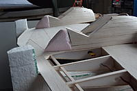Name: 2013_02050003.jpg Views: 49 Size: 148.1 KB Description: The easy part. the nacellef from N5 back are just foam, here in the rough
