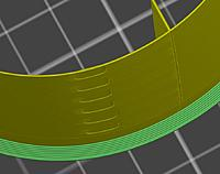Name: Capture.JPG Views: 64 Size: 55.9 KB Description: 50% reduced part is showing similar banding in the slicer, just like your print.
