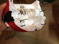 Name: IMG_2086.jpg Views: 65 Size: 139.2 KB Description: First round of cracks repaired now for the splinting and the reassembly of the plane.