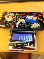 Name: beast electronic gear.jpg Views: 553 Size: 263.6 KB Description: the weight of the beast electronic gear, complete with two aileron servos