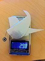 Name: v-stab_rudder_weight_covered.jpg Views: 432 Size: 242.4 KB Description: post-covering weight