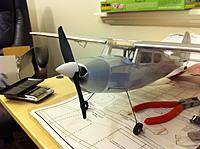 Name: possible-spinner.jpg Views: 577 Size: 84.1 KB Description: This spinner adds the necessary nose weight to fly with a 120 mah battery, putting the weight at 114.5g.  It looks a tad too big though. :)