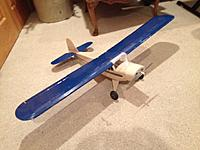 Name: Taylorcraft 1.jpg Views: 105 Size: 123.4 KB Description: My first build - Alien Aircraft Taylorcraft
