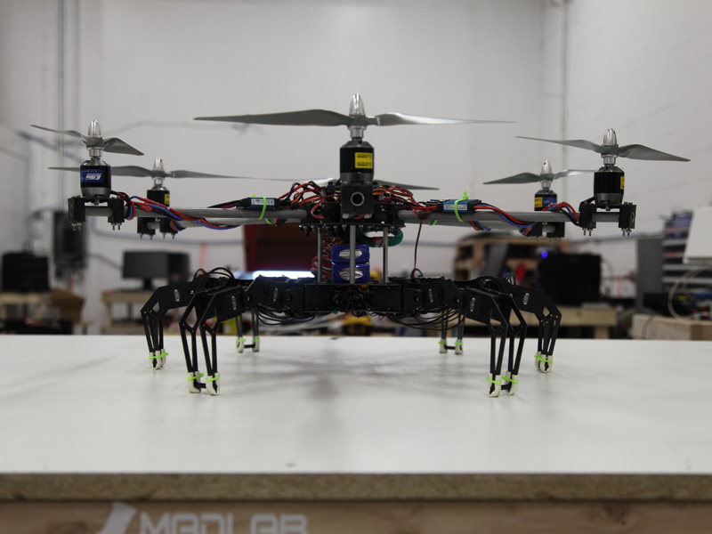 Name: hexapod_quadcopter2.jpg Views: 130 Size: 118.3 KB Description: Front View