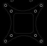 Name: OpenPilot Copter Control Adaptor Plate.jpg Views: 1224 Size: 5.0 KB Description: