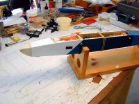 Name: Repairs Underway.jpg Views: 133 Size: 95.8 KB Description: Balsa tip has been reshaped, and will be painted white.