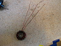 """Name: IMG_7015.jpg Views: 53 Size: 194.2 KB Description: dLRK wind, wye terminated, 2W .3mm/0.012"""" (uninsulated) 20T"""