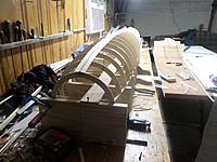 Name: SAM_3160.JPG Views: 10 Size: 3.46 MB Description: Strip planking begins..