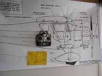 """Name: DSCN2395.jpg Views: 31 Size: 185.6 KB Description: That yellow 3 view was enlarged a total of 532% to yield the 82"""" long print of the Monocoupe."""