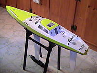 Name: PIC_0305.JPG Views: 14 Size: 135.5 KB Description: Hull with oracal added for color.