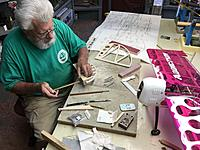 """Name: IMG_2842.jpg Views: 173 Size: 301.4 KB Description: I am using 3/16""""pinned Robart hinges.I have added a hardwood piece to stab. so its easier to drill than to saw the hinge slot."""