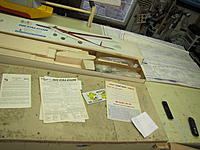Name: IMG_0747.JPG Views: 120 Size: 2.73 MB Description: The only instructions was a small sheet explaining about this is a new improved kit!!!better wing, longer an wider fuse, better stiffeners.also a sign up application from AMA for 1987!!!