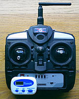 Name: DSCN1753-1.jpg Views: 47 Size: 161.8 KB Description: $1 Timer attached by velcro to Tx