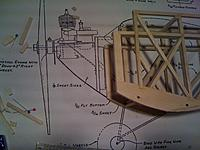 Name: photo (30).jpg Views: 143 Size: 192.2 KB Description: I have moved the original firewall back slightly to allow me to fit the battery between the original firewall and the new one for the electric motor.