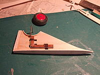 Name: falcon 029.jpg Views: 108 Size: 232.8 KB Description: Binding the tail wheel leg to under fin