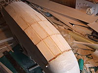 Name: falcon 046.jpg Views: 95 Size: 166.8 KB Description: bottom stringers and sheeting in place