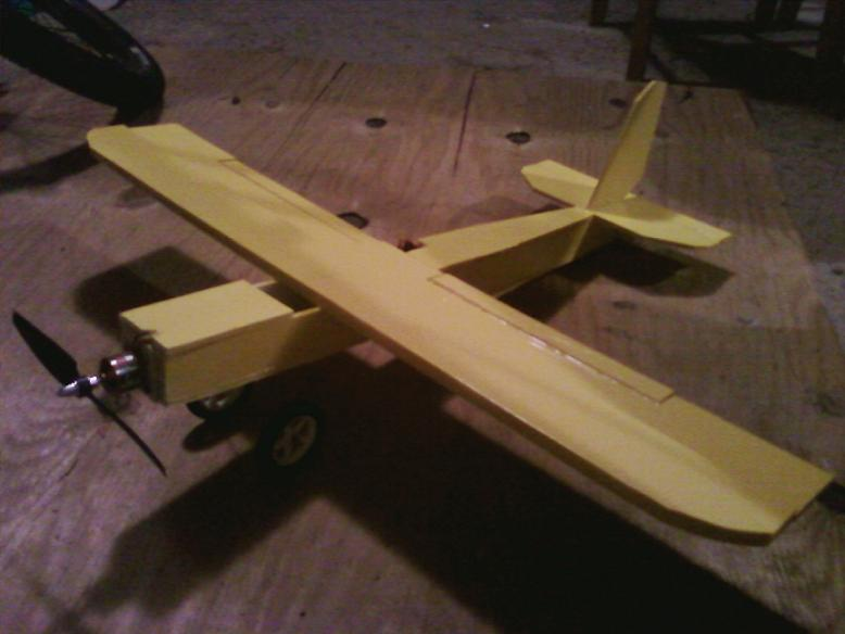 Rc Plane Scratch Built: Ft Old Speedster Scratch Built Rc