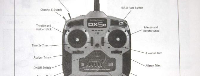 spektrum dx5e 5 channel full range 2 4ghz dsm2 radio review rc RC Helicopter Engine this diagram is from the instruction manual for the radio system double click to enlarge RC Helicopter Repair