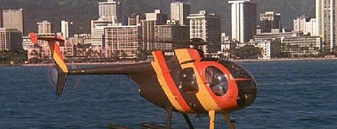 I fell in love with the Hughes 500 version after a ride in Hawaii in the helicopter used in the Magnum P.I. television show.