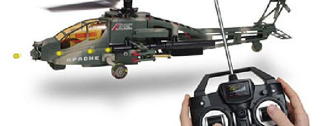 ThinkGeek 5 Channel RC Airborne Attack Helicopter Review ...