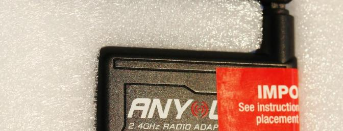 The AnyLink came protected in foam.