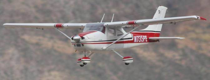Beautiful Giant Scale Cessna available from <a href=