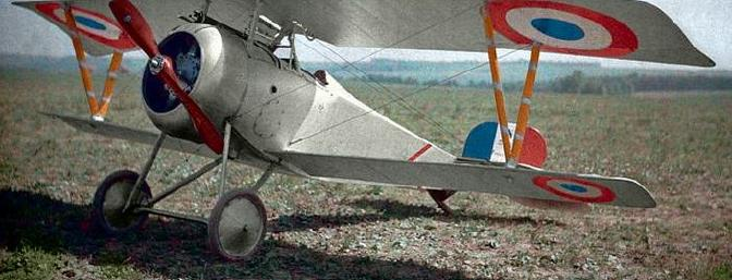This picture of the Nieuport 17 and the historical facts given above are courtesy of Wikipedia.