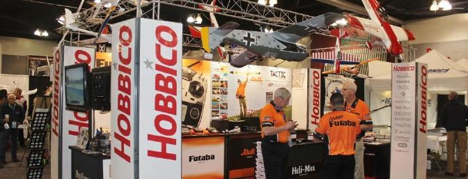 The Hobbico Booth is a collection of Great RC companies and products.