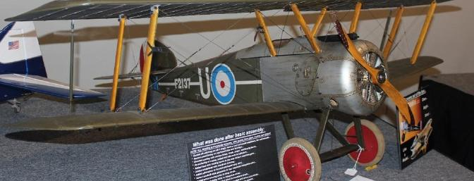 One of the many models on display.