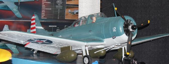 The new SBD-5 Dauntless. Look for a review on this beautiful plane coming soon.