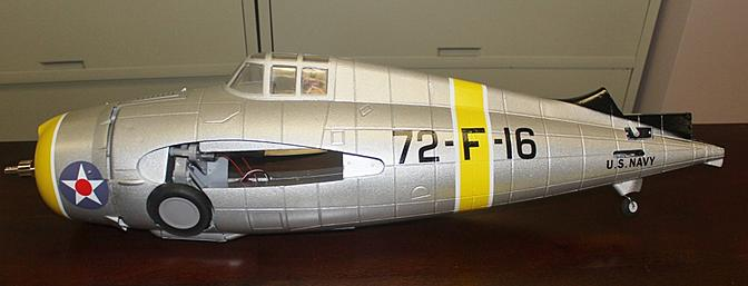 I find the fuselage with the wheels showing retracted very interesting to observe.