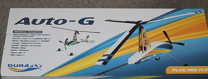 Article Durafly Auto-G2 Gyrocopter Plug & Fly Review - RC Groups