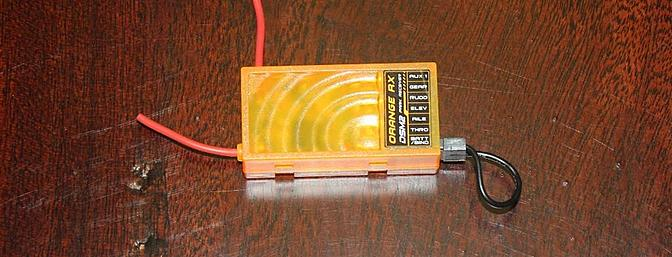 HobbyKing sent an Orange receiver to use in the review.