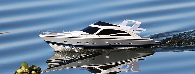 47 Atlantic Motor Vessel: Thunder Tiger's Atlantic Motor Yacht RTR Review