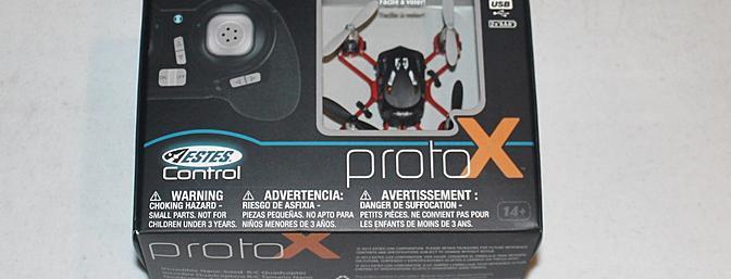 The Proto X RTF comes in this little box.