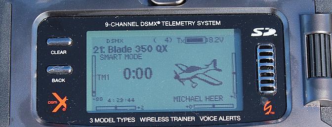 "Flight Mode 1 renamed: ""Smart Mode"" for my Blade 350 QX"
