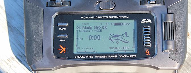 """Flight Mode 2 renamed: """"Stability Mode"""" for my Blade 350 QX"""