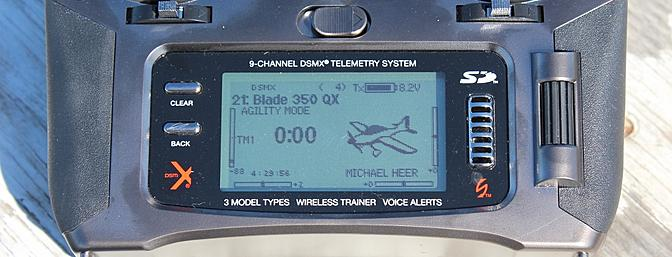 """Flight Mode 3 renamed: """"Agility Mode"""" for my Blade 350 QX"""