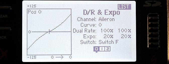 Dual Rates and Exponential Title screen