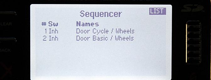 The Sequencer mix allows to program wheel bay doors to open before the retracts come down, etc.