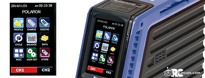 Graupner Polaron Ex 1400 11 28v 2 X 730w 1 8s Charger Rc