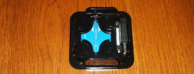 Under the papers shown above I found a spare blue body, the charger and LiPo battery.