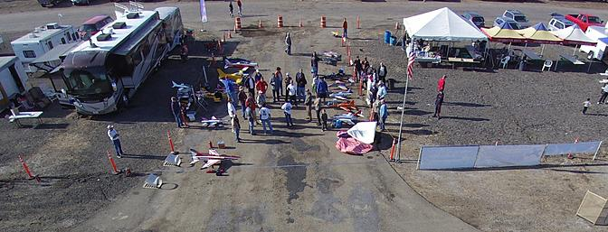 The pilots meeting on Saturday morning. 35 registered pilots.