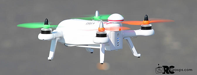 GearBest DYS X230 Hobby Grade FPV HD Camera Quadcopter