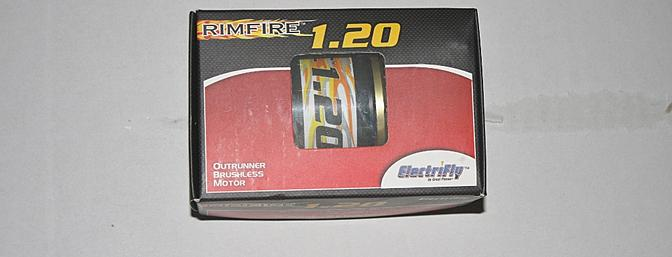 Rimfire Brushless 1.20 motor