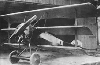 An F 1 prototype delivered to Richthofen. He got two kills in two days.